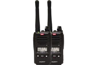GME TX677TP 2 Watt UHF CB Handheld radio  Twin pack Compact and lightweight design
