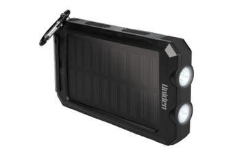 8000Ma Solar Power Bank Portable Charger - Uniden