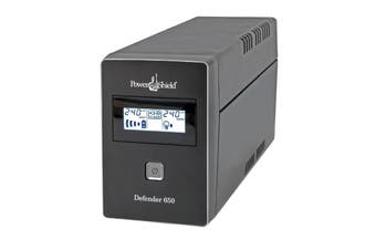 PowerShield Defender 650VA 390W Line Interactive UPS with AVR