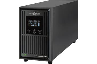PowerShield Commander 1100VA 990W Line Interactive Sine Wave Tower UPS with AVR