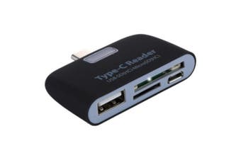 USB Type C TO USB SD TF Card Reader