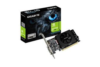 Gigabyte nVidia Geforce GT710 2GB DDR5 PCIe Graphic Card 4K HDMI DVI Low Profile