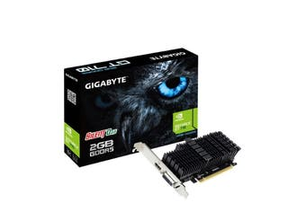 Gigabyte nVidia Geforce GT 710 2GB DDR5 PCIe Graphic Card Low Profile Heatsink