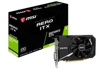 MSI nVidia Geforce GTX 1650 SUPER AERO ITX OC 4GB GDDR6