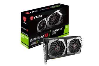 MSI nVidia Geforce 4GB GDDR6 3DP1.4 HDMI2.0b 1755 MHz Torx Fan 3.0 G-SYNC VR