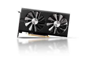 Sapphire AMD Radeon 8Gb GDDR5 Lite PCI-E VGA Card 2 HDMI 2 DP 1284 MHz Boost