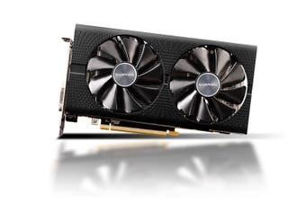 Sapphire AMD Radeon 8Gb GDDR5 VGA Card 2XDP 2XHDMI DVI-D VR Ready 1366MHz