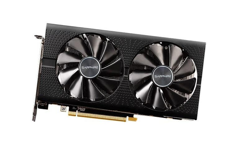 Sapphire AMD Radeon Pulse 8Gb GDDR5 VGA Card 2HDMI 2DP Oc Lite W/Bp UEFI