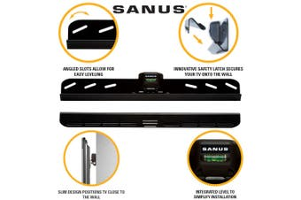 Sanus Simplysafe 22 inch-50 inch LOW PROFILE WALL MOUNT