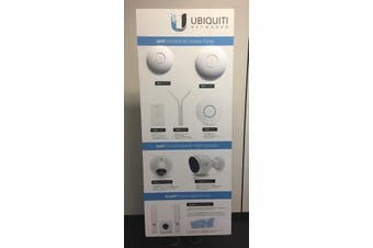 Ubiquiti Builders, Electricians & Showroom Wall Display Unit