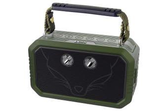 Traveller Bluetooth Speaker 20W Waterproof BT4.0 Grn
