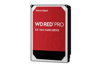 Western Digital WD Red Pro 2TB NAS 64MB Cache 3.5Inch 7200RPM SATA3 6Gbps