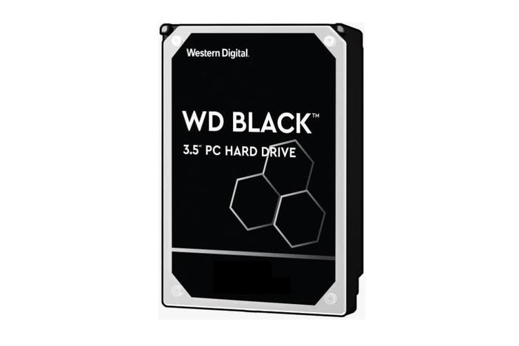 Western Digital WD Black 6TB 3.5Inch SATA HDD 7200RPM 6Gbps 256MB Cache