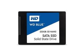 Western Digital WD Blue 3D Nand Series SATA SSD Hard Drive 250GB 2.5 Form Factor