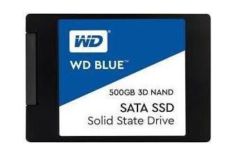 Western Digital WD Blue 3D NAND 2.5Form Factor SATA CSSD 500GB SSD 3 Yr Warranty