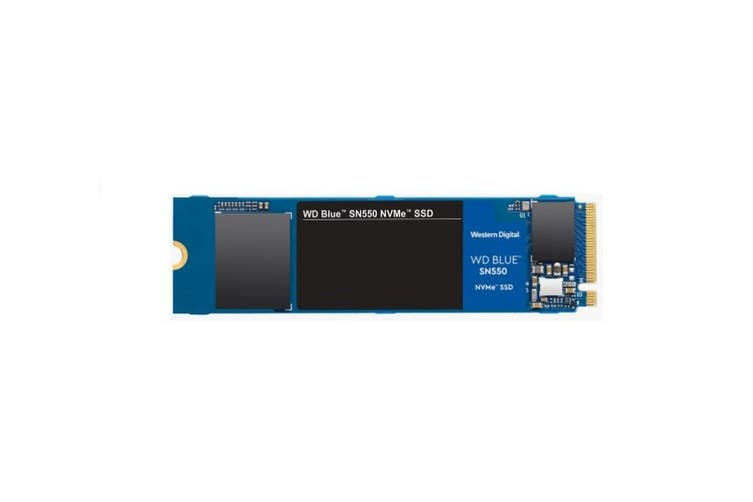 Western Digital WD Blue SN550 500GB NVMe PCIe M.2 SSD 8Gbps 5 Year Warranty