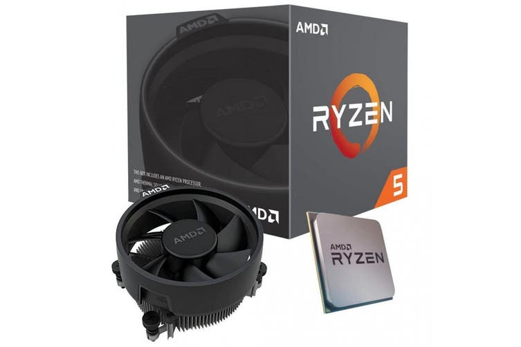 AMD Ryzen 5 3400G 4 Core AM4 CPU 3.7GHz 4MB 65W with Wraith Stealth Cooler Fan