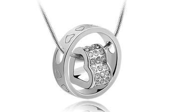 Love Infinite ft. Swarovski Crystals Pendant Necklace
