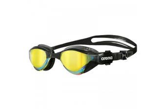 Arena Cobra Tri Mirror Triathlon Unisex Swimming Goggles - Revo/Black