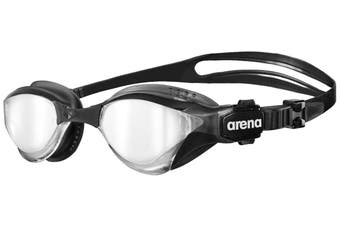 Arena Cobra Tri Mirror Triathlon Unisex Swimming Goggles Swim - Silver/Black