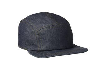 Goorin Brothers Vision Quest Jeans Baseball Trucker Cap Hat Camp Bros - Navy