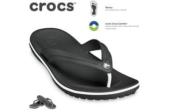 Crocs Crocband Flip Flops Thongs - Black