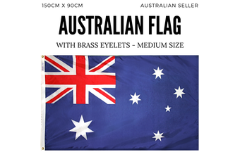 AUSTRALIA FLAG Aussie Australian Day Souvenir National 150cmx90cm - Medium