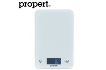Propert 5kg Slimline Glass Soft Touch Digital Scale Electronic Weight Balance