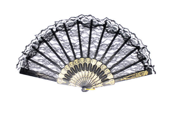 LACE FAN Hand Folding Wedding Party Bridal Spanish Costume Accessory New