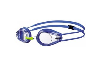 Arena Junior Okulary Tracks Swimming Goggles - Clear/Blue