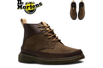Dr. Martens Flloyd Men's 5 Eye Leather Chukka Boots Shoes - Dark Brown