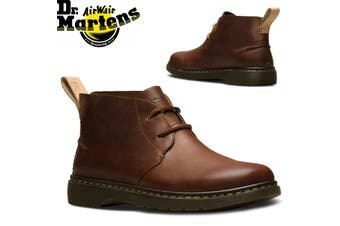 Dr. Martens Ember Chukka Leather Boots Shoes - Tan
