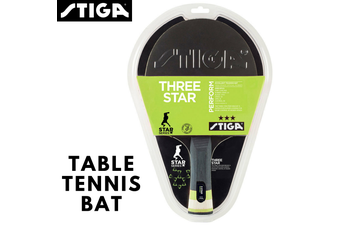 STIGA Perform 3 Star Table Tennis Bat Ping Pong Racket Game Paddle