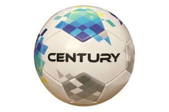 Century Size 3 Soccer Ball Football - White