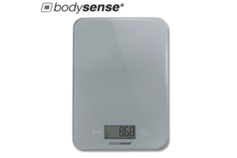 BodySense 5kg Ultra Sleek Digital Kitchen Scale Electronic Weight