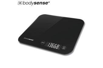 BodySense 15kg High Capacity Digital Kitchen Scale Electronic Weight Balance