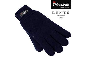 Dents 3M Thinsulate Women's Full Finger Knit Gloves Polar Fleece Thermal Insulation