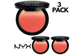 3pcs Nyx 8g Ombre Blush Professional Makeup - Ob06 Nude To Me
