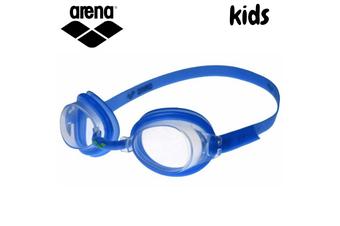 ARENA Junior Kids Swim Goggles Bubble 3 Swimming Anti-Fog - Blue