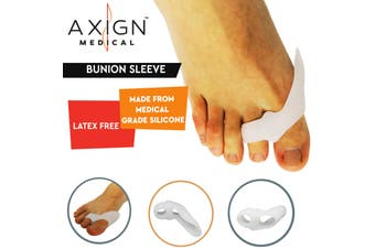 1 Pair Axign Medical Bunion Sleeve Separator Pain Relief Alignment
