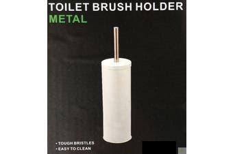 Toilet Brush Holder Metal Bathroom Handle Round Cleaning 5473