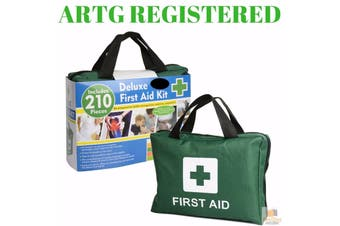 6x 210PCS EMERGENCY FIRST AID KIT Medical Travel Set Workplace Office ARTG BULK