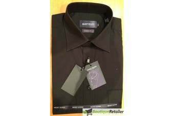 Mens BUSINESS SHIRT Plus Size King Big Large Formal S M L XL XXL 3XL 4XL 5XL New