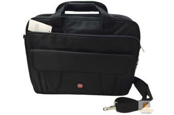 """15"""" Inch Laptop Bag Notebook Computer Shoulder Carry Case Padded Messenger Pouch"""