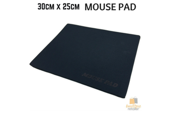 MOUSE PAD Clothpad Mice Gaming PC Laptop Computer 30cm x 25cm New