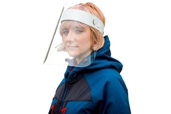 5x Full Face Shield Clear Glasses Anti-Fog Eye Protector Shop Dental 300 Micron Safety