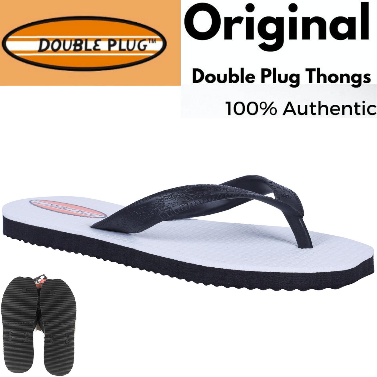 ORIGINAL DOUBLE PLUG Thongs Flip Flops