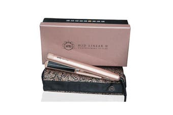 H2D Hair 2 Day Hair Straightener Styler Styling Iron Linear II Rose Gold 230 Degree