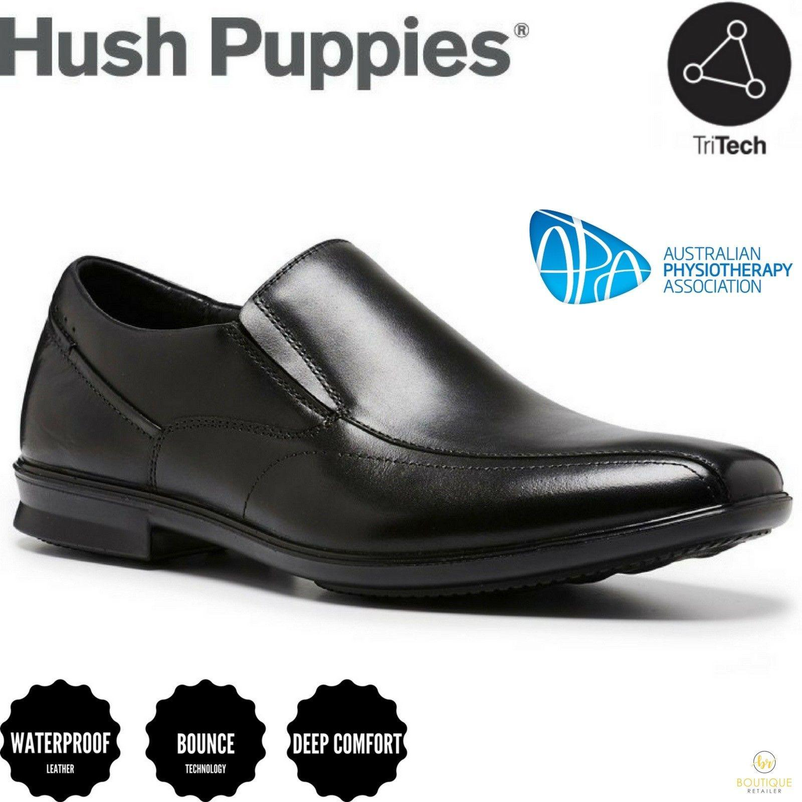 HUSH PUPPIES Callan Mens Leather Shoes