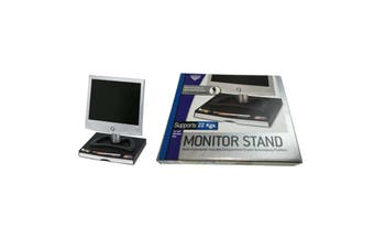 Heavy Duty MONITOR STAND LCD TV Computer Screen Display Rack Riser Shelf